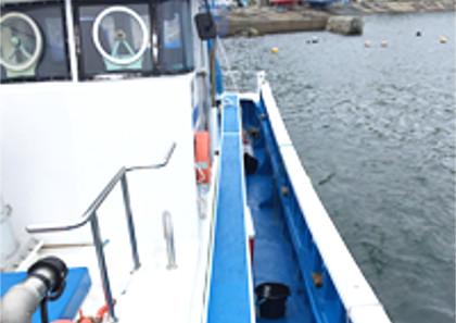 釣り船は東京湾、剣崎を中心に出船する「第八日の出丸」へ